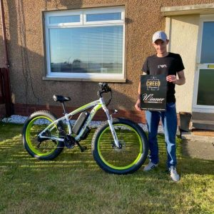 Claire Gubby Smlro electric bike Winner