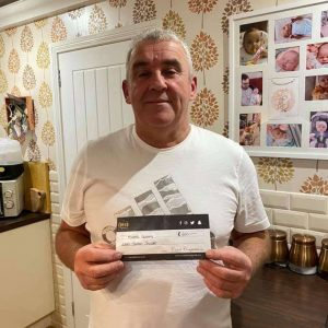 Michael Gourlay £200 Golden Jackpot Winner